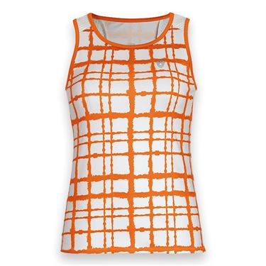 DUC Absolute Printed Tank - White/Orange