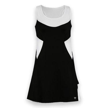 DUC Tease Tennis Dress - Black/White