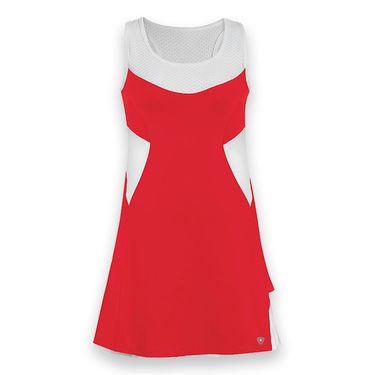 DUC Tease Tennis Dress - Red/White