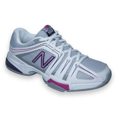 New Balance WC1005PB (B) Womens Tennis Shoe-Grey/Pink