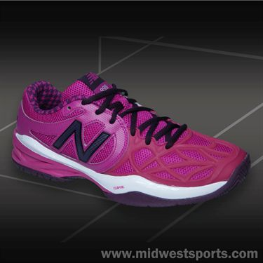 New Balance WC996PY (B) Womens Tennis Shoe-Poisonberry/Purple