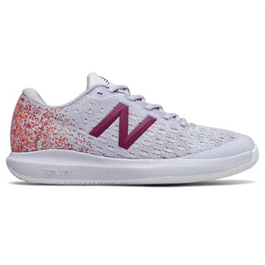 New Balance 996v4 (B) Womens Tennis Shoe - Grey/Mulberry