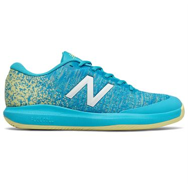 New Balance 996v4 (D) Womens Tennis Shoe - Blue/Yellow