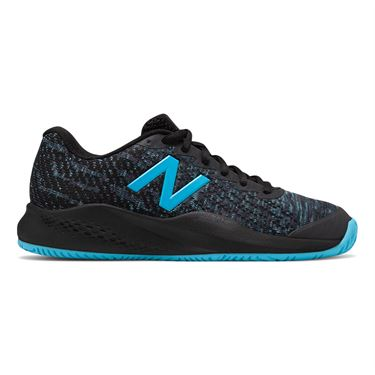 New Balance WC 996 (D) Womens Tennis Shoe - Black/Bayside