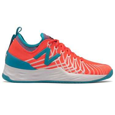 New Balance Fresh Foam LAV (B) Womens Tennis Shoe - Coral/Blue