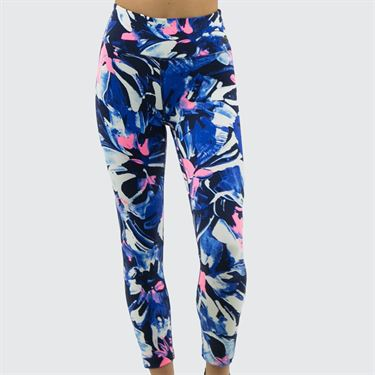 New Balance Printed Highrise Transform Crop Legging - Navy/Multi
