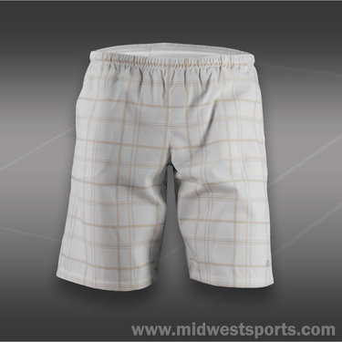 Wilson Boys Rush Plaid Short-White
