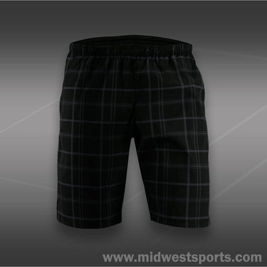 Wilson Boys Rush Plaid Short-Black
