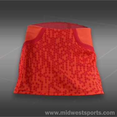 Wilson Solana Pixel Skirt-Coral
