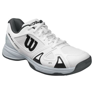 Wilson Junior Rush Pro 2.5 Tennis Shoe - White/Black