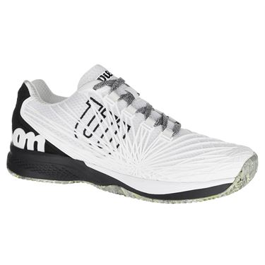 Wilson Kaos 2.0 Mens Tennis Shoe - White/Black/Yellow