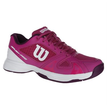 Wilson Rush Pro 2.5 Junior Tennis Shoe - Berry/White/Purple