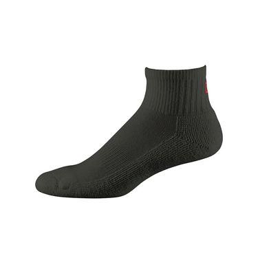 Wilson Comfort Fit Quarter Sock - Black