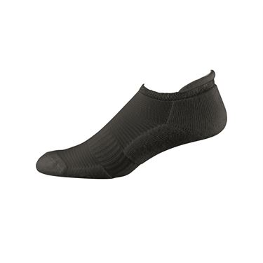 Wilson Comfort Fit No Show Sock - Black