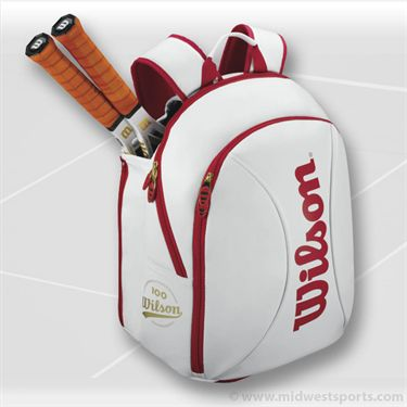 Wilson Tour 100 Year Small Backpack Tennis Bag