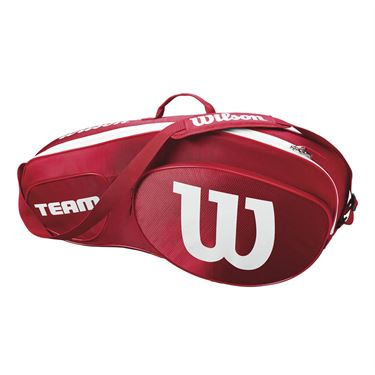 Wilson Team III Triple Tennis Bag - Red