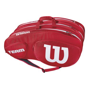 Wilson Team III 12 Pack Tennis Bag - Red