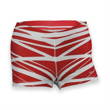 DUC Dive Compression Short-Red