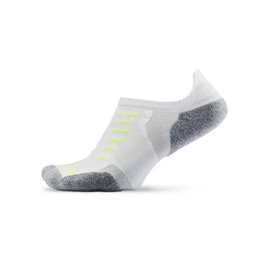 Thorlo Experia No Show Tab Tennis Sock - White
