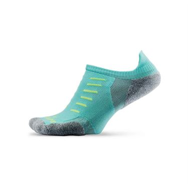 Thorlo Experia No Show Tab Tennis Sock- Spearmint