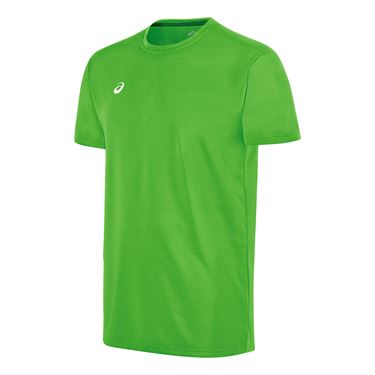 Asics Circuit 8 Warm Up Crew - Neon Green