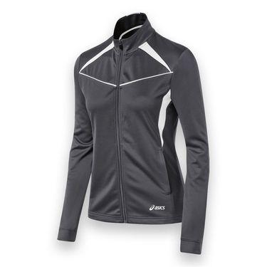 Asics Cali Jacket - Steel Grey/White