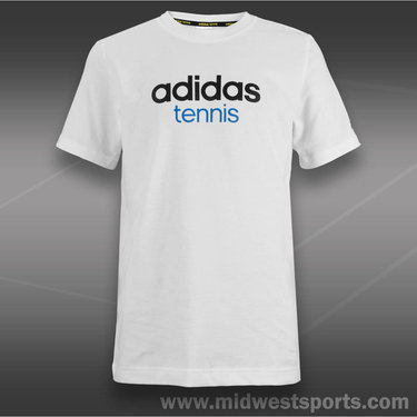 adidas Boys Tennis Sequencials Icon Logo T-Shirt