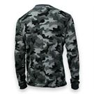 Under Armour Amplify Camo Thermal Crew - Steel/Stealth Gray