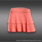 Sofibella Energy Double Tiered Skirt-Sorbet