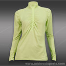 Lija Pace Ruched Longsleeve Polo