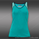 Lija Clarity Score Gathered Tank-Teal