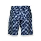 Yonex Performance Plaid Short - White/Dark Blue