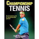 Human Kinetics Championship Tennis Book by Frank Giampaolo