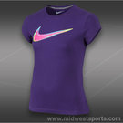 Nike Girls Swoosh Wild Out T-Shirt