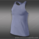 Nike Girls Maria Open Tank-Iron Purple