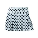 BPassionit Eclipse Pleated Skirt - White/Black