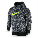Nike Boys Knock Out 3.0 Print Hoodie - Cool Grey/Black