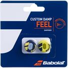 Babolat Custom Damp Vibration Dampener - Black/Yellow