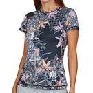 Sofibella UV Feather Top Womens Orchid Print 7012F ORC