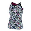Bolle Pop Art Double Strap Tank - Print/Black