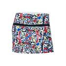 Bolle Graffiti Printed Skirt - Multi