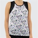 Bolle Brush Strokes Tank Womens White 8702 29 0110