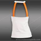 Polo Ralph Lauren Elite Wicking Jersey Tank-White/Orange