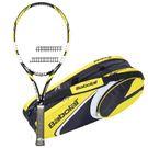 Babolat E Sense Lite Tennis Racquet (Strung), 3 Pack Bundle