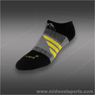 adidas Barricade No Show Tennis Sock Black