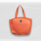 Court Couture Cassanova Quilted Tennis Tote Tangerine