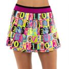 Lucky in Love Rockin Rococo Long Lucky Lane Skirt Womens Multi CB420 C22955