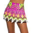 Lucky in Love Rockin Rococo Scarf Skirt Womens Multi CB441 C16955