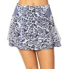 Lucky in Love On The Prowl Long Skirt Womens Charcoal CB450 C35040