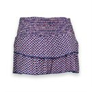 Lucky in Love Kaleidoscope Tier Skirt - Sapphire